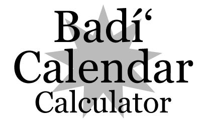 Badi Calendar Faq